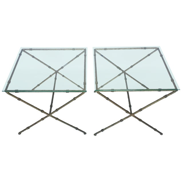 Hollywood Regency Accent Tables - A Pair - Image 1 of 8