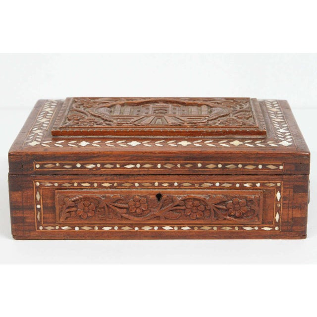 Brown 19th Century Anglo-Indian Box For Sale - Image 8 of 8