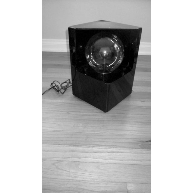 1980s Optic Illusion Table Lamp - Image 8 of 11