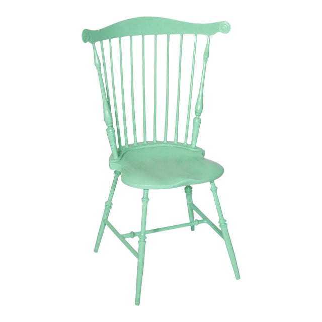 Fanback Outdoor Chair in Willow For Sale