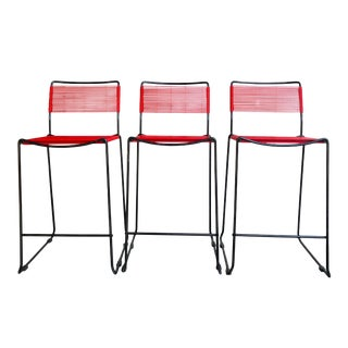Spaghetti Barstools After Belotti for Flyline - Set of Three For Sale