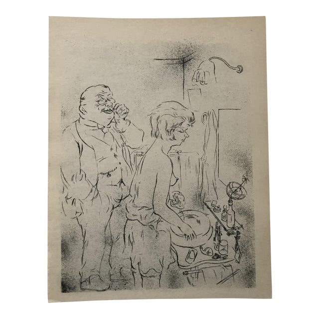 The Uncle Bu Artists George Grosz Print For Sale