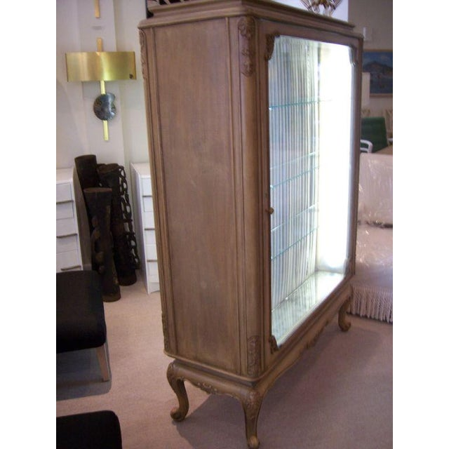 Gold A Louis XVI Style Perfume/Pharmacy Vitrine For Sale - Image 8 of 8