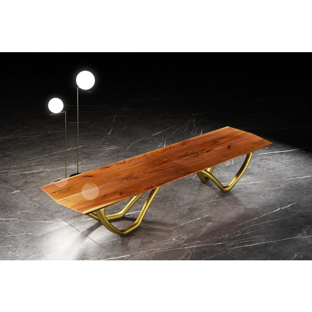 Sculptura is more than just a table. The beauty of the wood and the sculptural design form a harmonic synergy. Which...