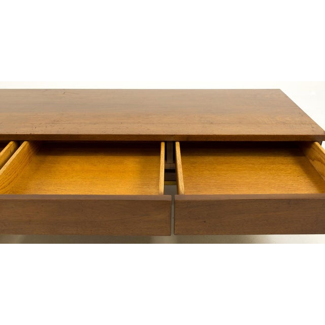 American Of Martinsville Mid Century Coffee Table: Merton Gershun American Of Martinsville Mid-Century Bench