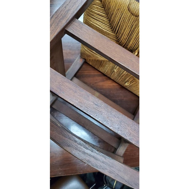 Gustav Stickely Early Arts & Crafts Mission Oak Youth Rocker Chair For Sale - Image 9 of 13