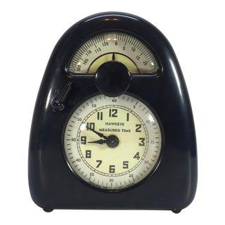 Isamu Noguchi Art Deco Bakelite Hawkeye Measured Time Clock Timer