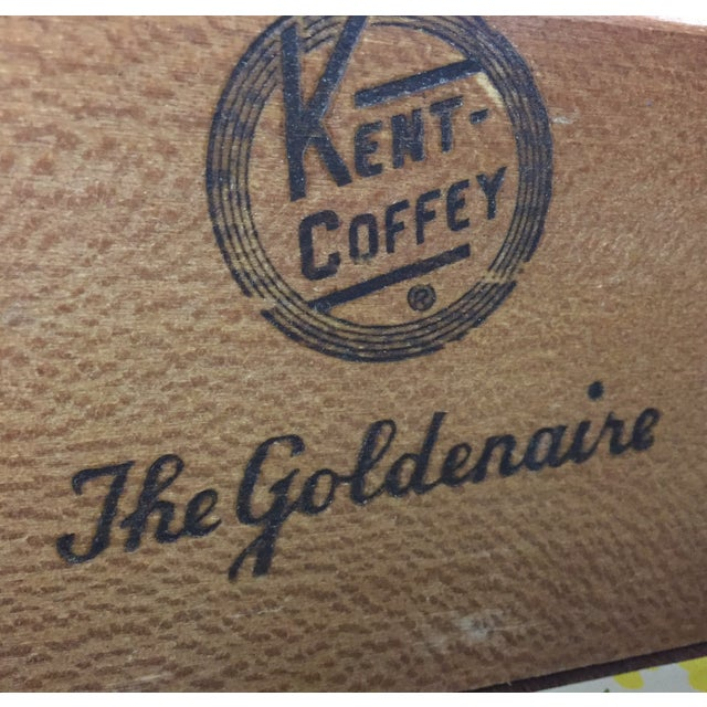 Kent Coffey Vintage Mahogany & Brass Tall Dresser - Image 9 of 9
