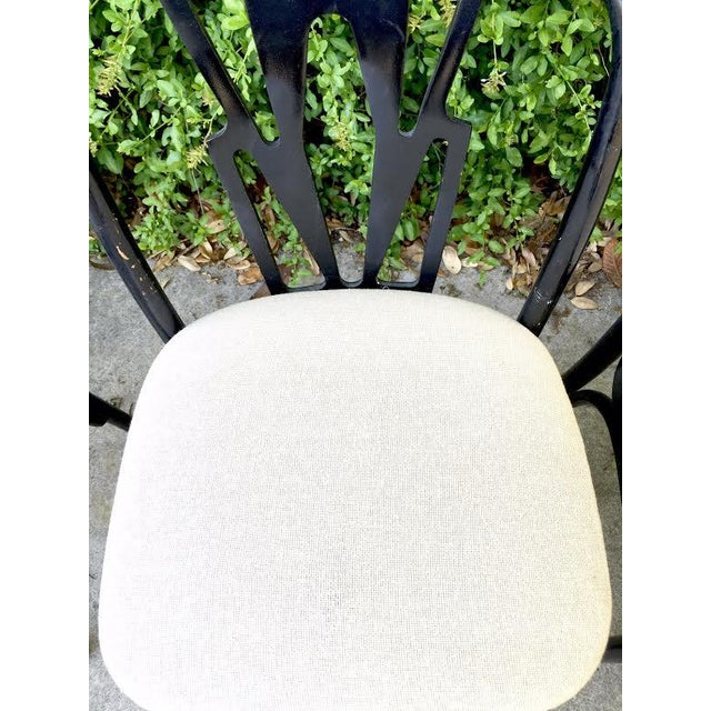 Vintage Cafe Dining Chairs - Set of 7 - Image 5 of 9