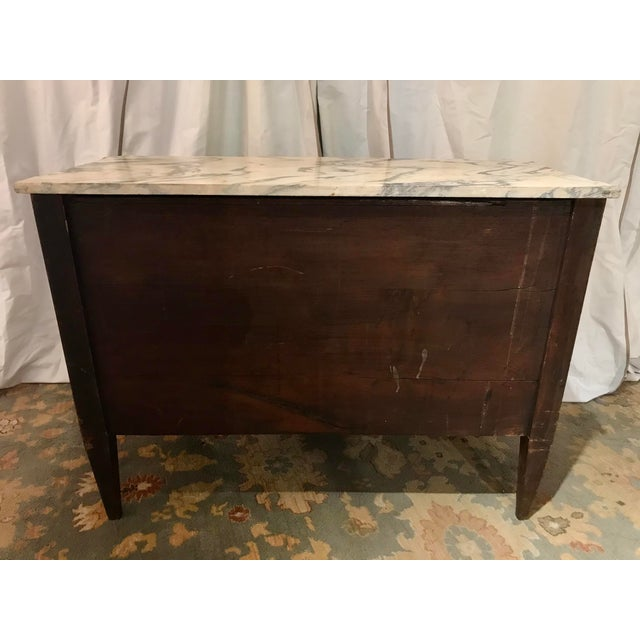 Italian 19th Century Two Drawer Commode For Sale - Image 4 of 8