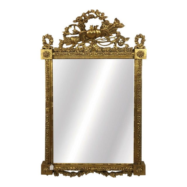 20th Century Italian Botanical Gilt Wood Frame For Sale