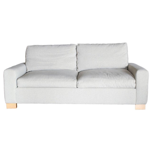 Oyster Point Grey Couch - Image 1 of 10