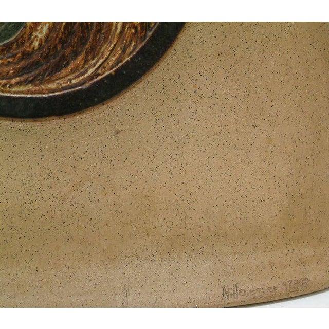 1978 Nittenegger Stoneware Vase For Sale - Image 9 of 10