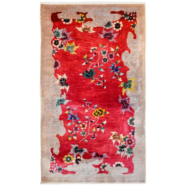 Chinese Art Deco Rug For Sale - Image 10 of 10