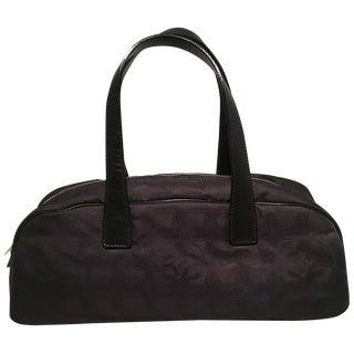 Chanel Black Nylon Traveline Handbag For Sale