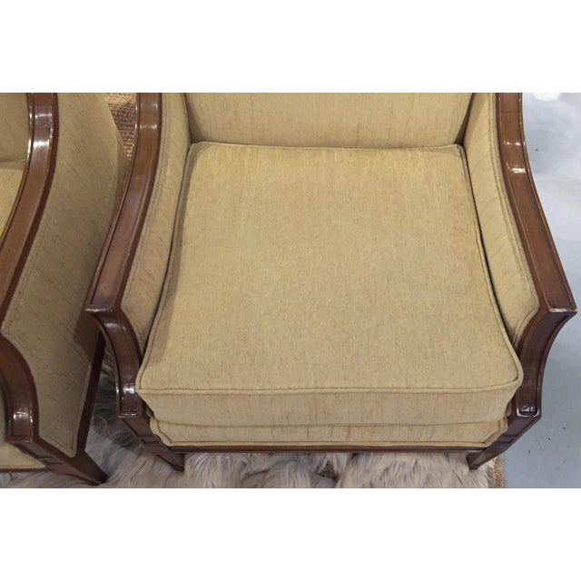 Mid-Century Regency, Transitional Style Club Chairs - a Pair - Image 8 of 8