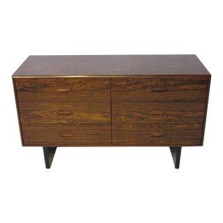 Brazilian Rosewood Danish Styled Dresser Chest For Sale