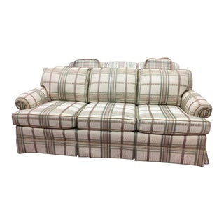 Vintage Wesley Hall Traditional Sofa For Sale