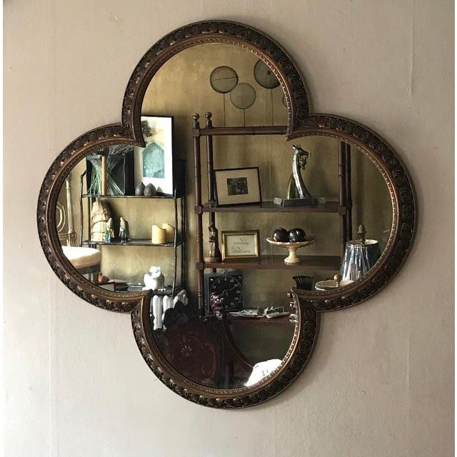 Contemporary Vintage 60's Mirror For Sale - Image 3 of 3