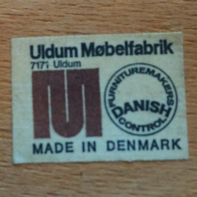 Uldum Møbelfabrik Danish Chairs - Set of 4 - Image 6 of 7