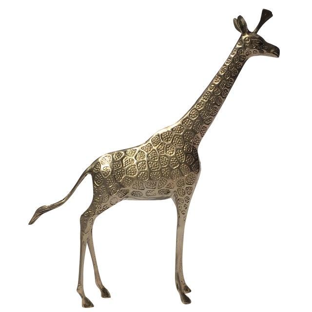 Brass Giraffe - Large - Image 1 of 5