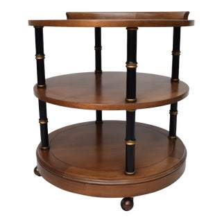 Neoclassical Style Bar Cart