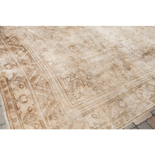 "Vintage Oushak Carpet - 6'10"" x 11'2"" - Image 2 of 6"