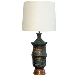Mid Century Table Lamp Asian Influence For Sale