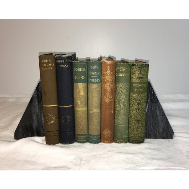 Antique Poetry Books - Set of 7 - Image 2 of 5