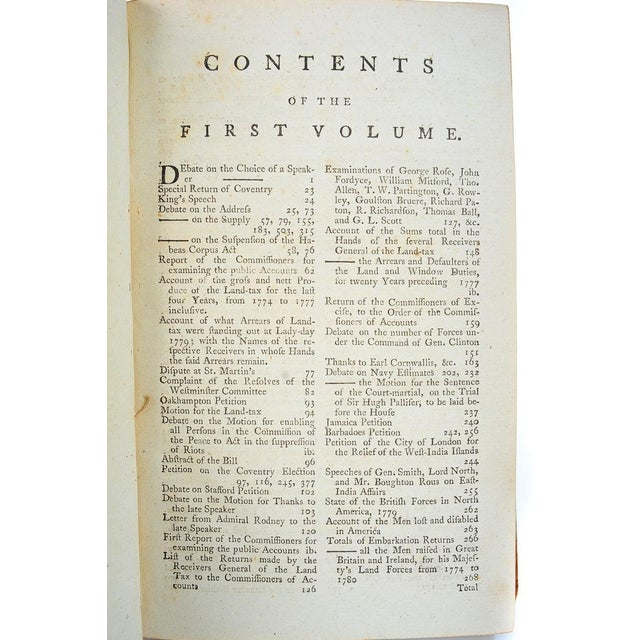 18th C. English Parliamentary Register - 23 Books - Image 6 of 8