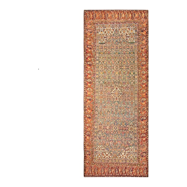 """Antique Nw Persian Rug 6'10"""" X 17'0"""" For Sale"""