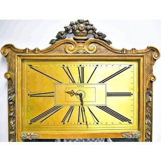 1920s Vintage Gilt Trumeau Mirror Clock Preview