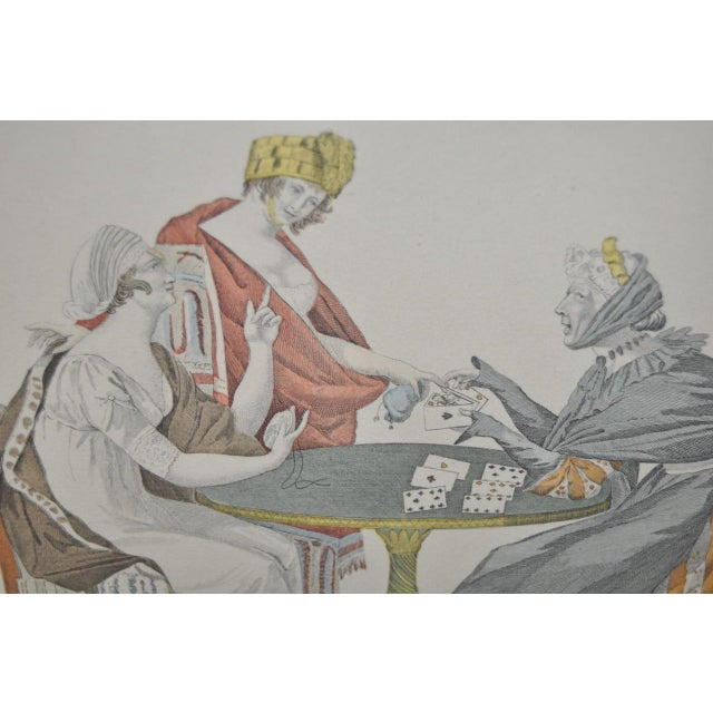 French Hand Colored Engravings - A Pair - Image 5 of 8