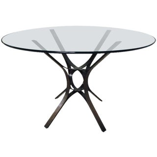 Roger Sprunger for Dunbar Bronze Table For Sale