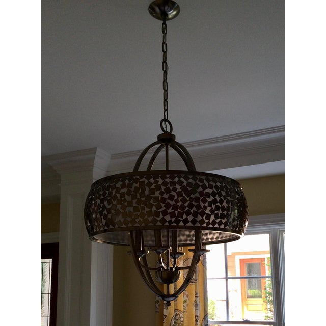 Contemporary Murray Feiss Chandelier For Sale - Image 3 of 4