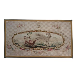 18th C. Aubusson Tapestry Panel For Sale