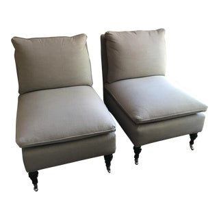 Mitchell Gold + Bob Williams Slipper Chair-A Pair