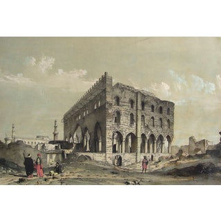 Josephs Hall, Cairo Egypt, 1840 For Sale