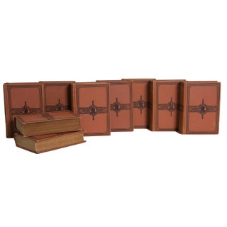 Antique Terracotta Dickens Classics Book Set, (S/9) Preview