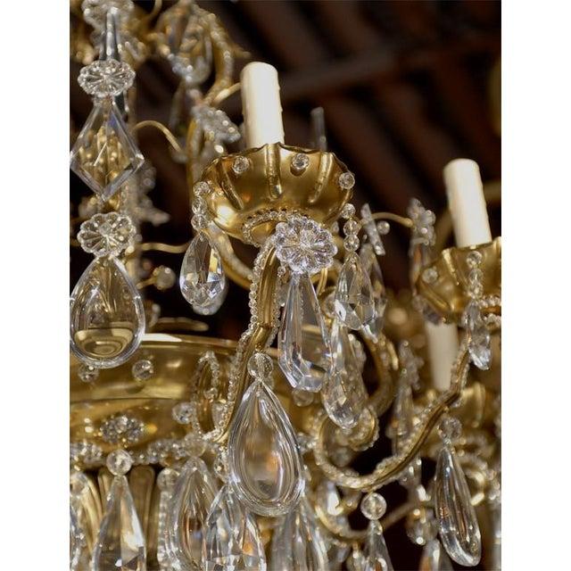Jansen Antique Chandelier - Image 4 of 8