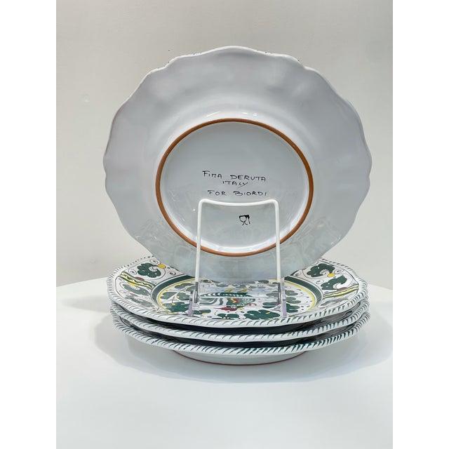 Traditional Orvieto Dinner Plate, Full Design - Set of 4 For Sale - Image 3 of 9