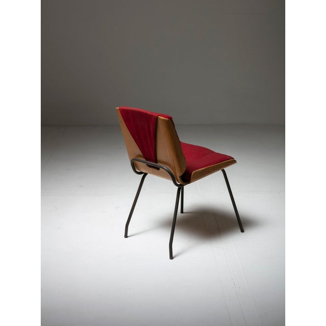 """Pair of """"Lucania"""" Chairs by Giancarlo De Carlo for Arflex For Sale - Image 6 of 8"""