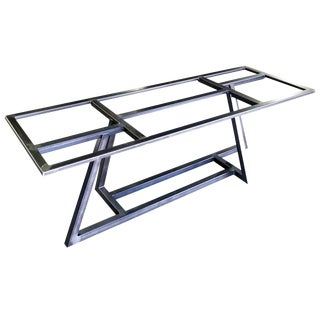 """Contemporary """"Jagger"""" Metal Table Base For Sale"""