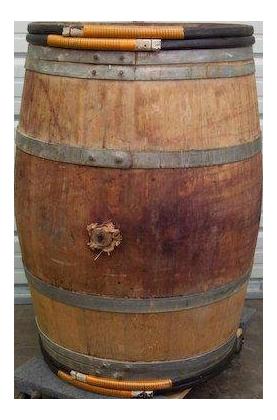 Oak wine barrels Aging Vintage Oak Wine Barrels Bordeaux France For Sale Chairish Vintage Oak Wine Barrels Bordeaux France Chairish