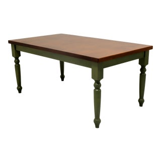 Farmhouse Style Dining Table For Sale