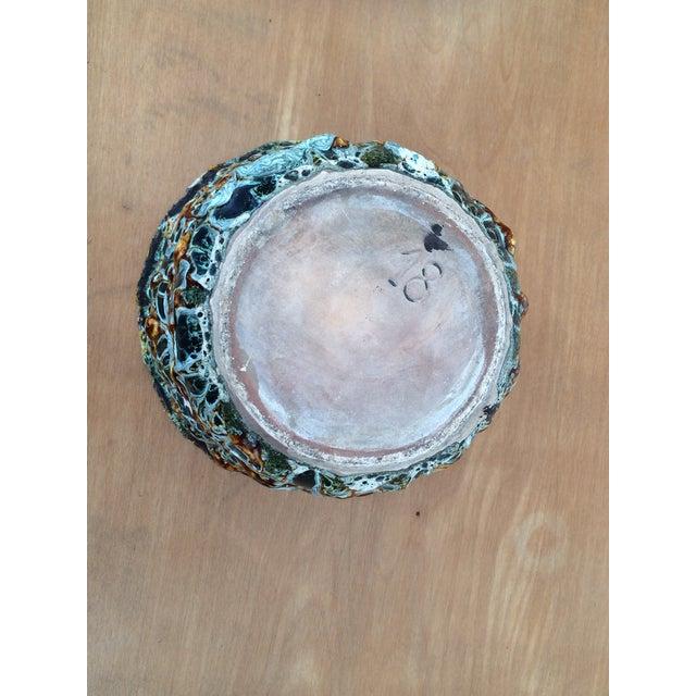 "Contemporary Mid-Century Modern Vallauris Studio ""Fat Lava"" Studio Pottery Vessel For Sale - Image 3 of 5"