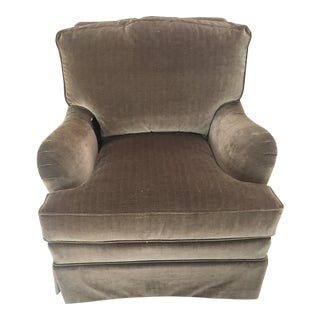 Henredon Custom Folio Collection-La Salle Upholstered Club Chair