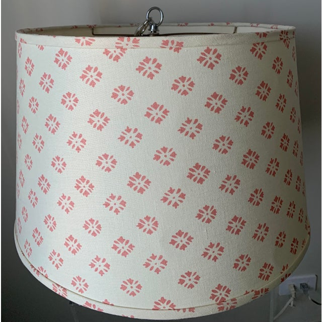 Custom Kathryn Ireland Fabric Pendant Light For Sale - Image 10 of 10