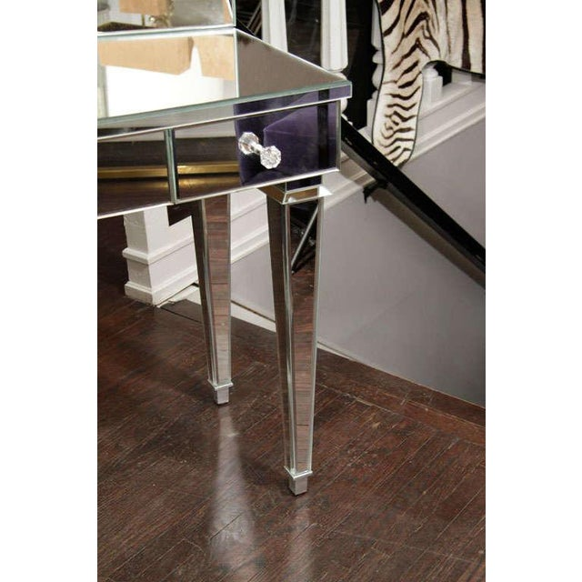 Art Deco Style Mirrored Dressing Table For Sale - Image 4 of 10