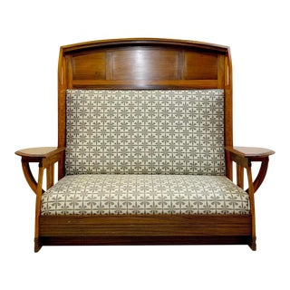 Gustave Serrurier-Bovy Bench, Belgium 20th For Sale